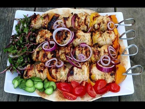 Lebanese Chicken Kebab ( taouk, tawook )
