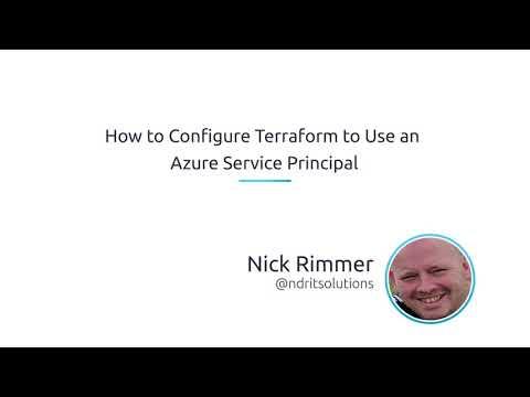 How To Configure Terraform To Use An Azure Service Principal