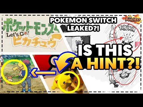 POKEMON SWITCH LEAKED?! Pokémon Let's Go Pikachu/Let's Go Eevee REVEALED! MASUDA TEASES NEW GAMES!