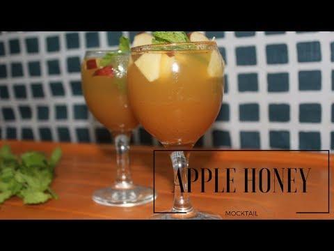 Apple Honey Mock-tail | Refreshing Non Alcoholic Drink
