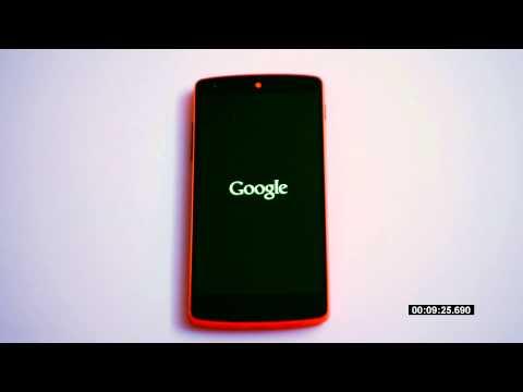 Nexus 5 Lollipop OTA Upgrade in Real Time