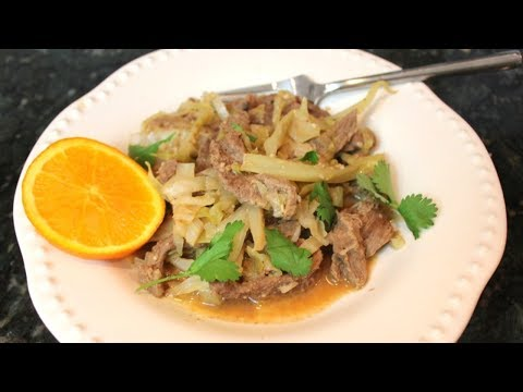One Pan Beef & Cabbage With Skirt Steak: One Dish Dinner Recipes