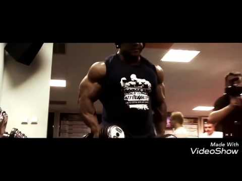 Very heavy bodybuilding exercise by famous bodybuilders
