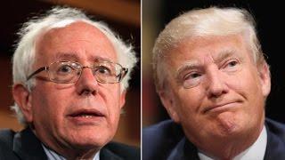 Donald Trump pokes fun at Bernie Sanders