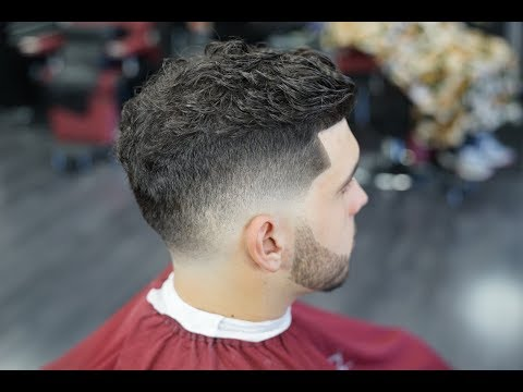 LOW FADE WITH BEARD!! TRIM ON TOP!!