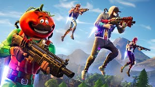Shotguns and Jetpacks!! New *CLOSE ENCOUNTERS* Gameplay!! (Fortnite Battle Royale)