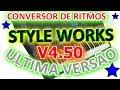 Como Converter Ritmos No Style Works Xt