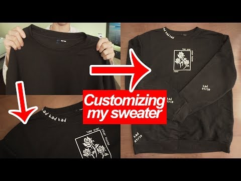 How I customized my sweater in 2018 | @KenAndrewDaily