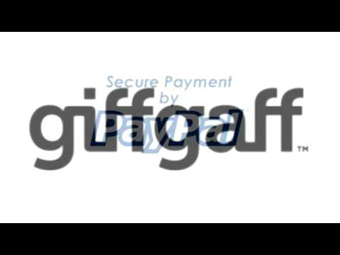 giffgaff top up pin voucher code emailed to your iphone or andriod phone etc, pay with paypal