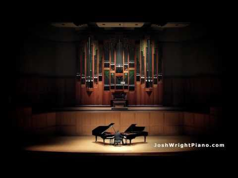 AMAZING! One Man Plays Two Grand Pianos At Once - La Campanella - Josh Wright