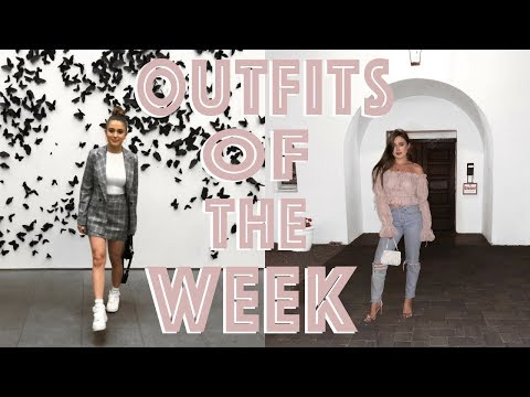OUTFITS OF THE WEEK - Birthday Edition ♡ Outfit Ideas 2018