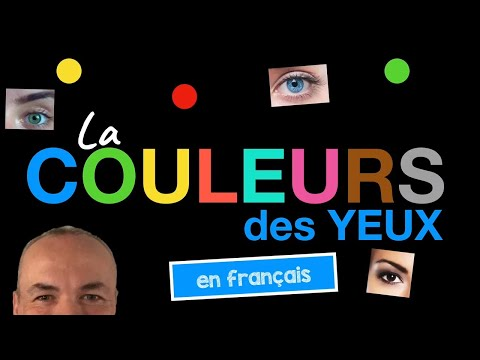 Eye color in French with Pascal