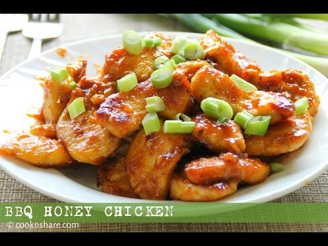Barbecue Honey Chicken