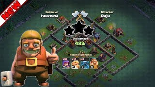 Bh3 Builder Hall 3 Base Anti 1 Star With 3rd Canon Replay Best Bh3