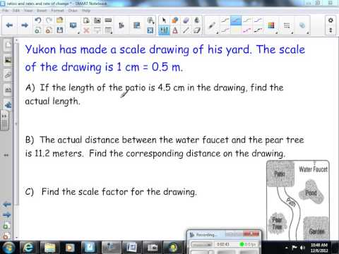 Scale Factor and Scale Drawings 8th Grade Math