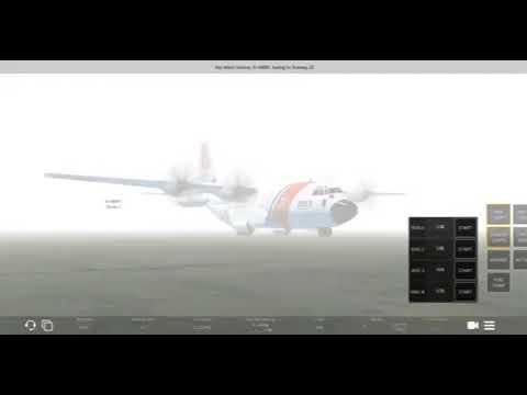 Infinite Flight Global - USCG C-130J Engine shutdown! [MUST WATCH]