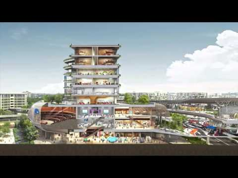 A look at the new  Jurong Innovation District