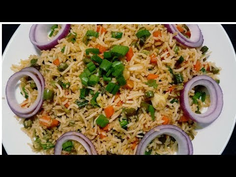 Restaurant style Vegetable fried rice in Tamil |  Veg Fried Rice in Tamil with English subtitle