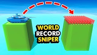 NEW World Record LONGEST Shot! ISLAND vs ISLAND Battles (Ancient Warfare 3 Funny Gameplay)