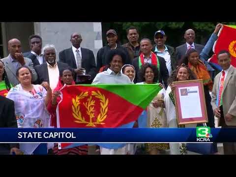 California celebrates, recognizes Eritrea's independence at Capitol