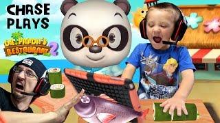 Chase plays Dr. Panda