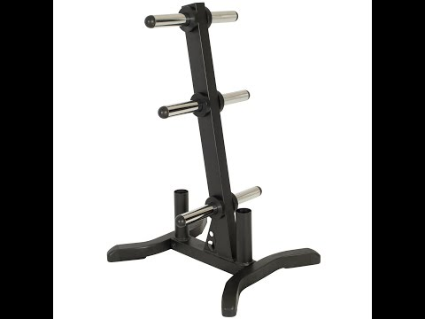 6805 IRONMAN Weight Tree and Olympic Bar Holder