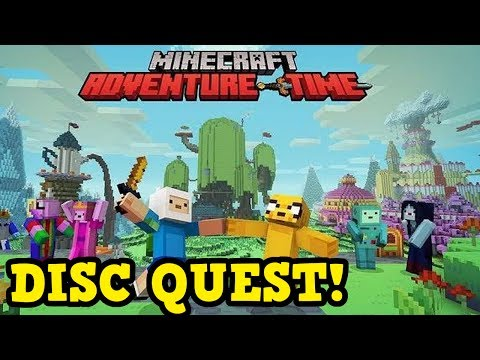 ADVENTURE TIME IN MINECRAFT QUEST + Giveaway