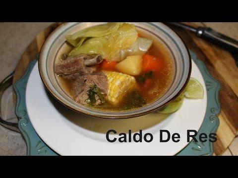 Caldo De Res (Mexican Beef Stew)