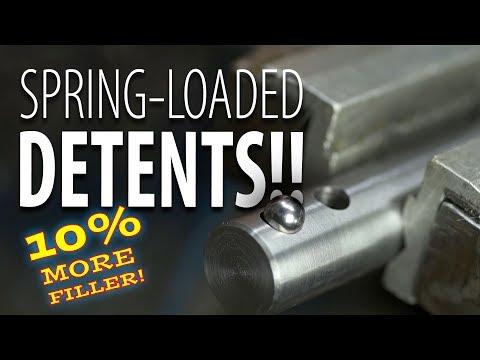 Spring-loaded Detents, alright!