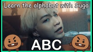 Download LEARN THE ALPHABET WITH BTS' SUGA Video