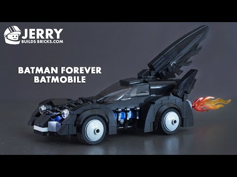 How to build LEGO Batman Forever Batmobile (MOC #50)