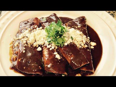Enchiladas de Mole (Dona María)