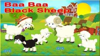 BAA BAA BLACK SHEEP - Famous Nursery Rhymes - Best Kids Songs