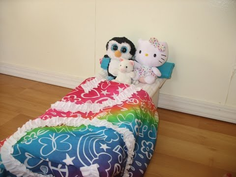 How To Make AG Doll Bed + Bedding