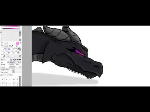 Drawing Minecraft Mobs: Part 3 Ender Dragon