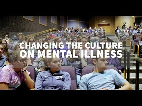 Changing the culture on mental illness