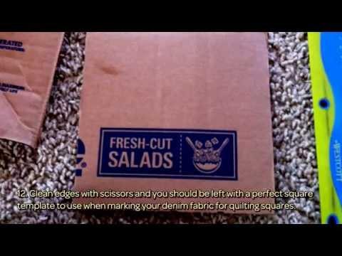 Easily Cut Denim Quilt Squares - DIY Crafts - Guidecentral