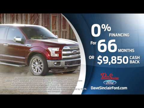 Dave Sinclair Ford F-150 America's #1 Selling Truck Event