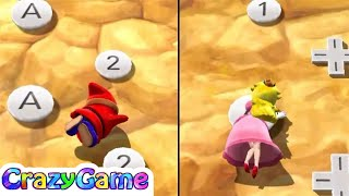 Mario Party 9 Toad Road - Peach vs Yoshi vs Shy Guy vs Kamek