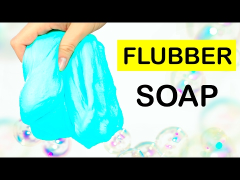 6 DIY Flubber Soap Recipes