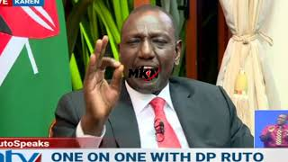 RUTO TO MURKOMEN AND SUSAN KIHIKA: 'CARRY YOUR OWN CROSS!COURTESY NTV!
