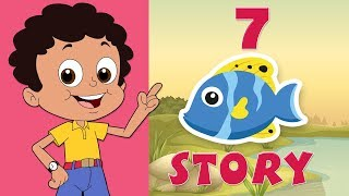 Babloo and The Seven Fishes Story | Chhota Bheem | GreenGold