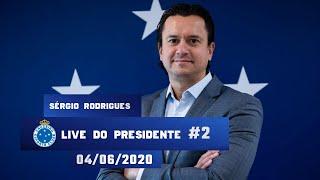 Live do Presidente #2 - Sérgio Santos Rodrigues