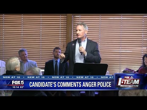 I-Team: Congressional Candidate to cops serving no-knock warrant: