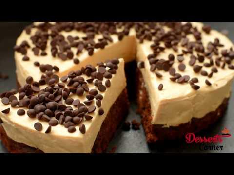 Brownie Bottom Peanut Butter Cheesecake long