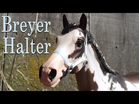 How To Make A Breyer Halter