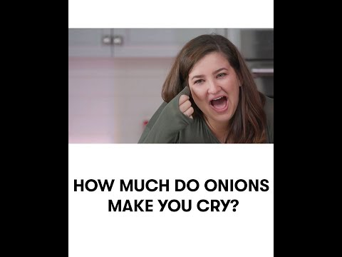 How Much Do Onions Make You Cry? We tried