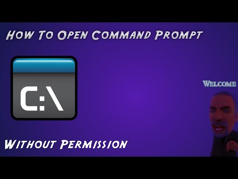 How To Open Command Prompt At School