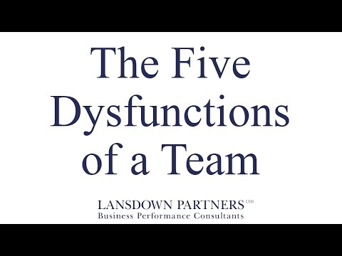 Video 10: The Five Dysfunctions of a Team