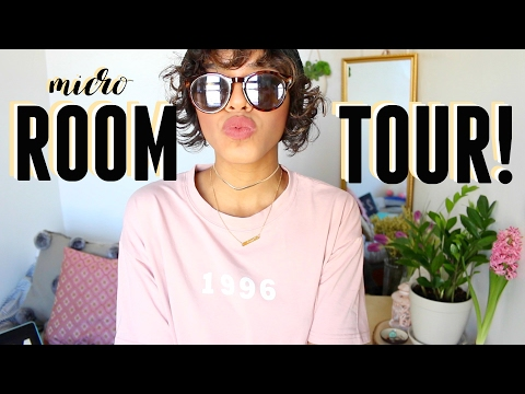 MICRO ROOM TOUR + 10 Ways To Make Your Room BIGGER!
